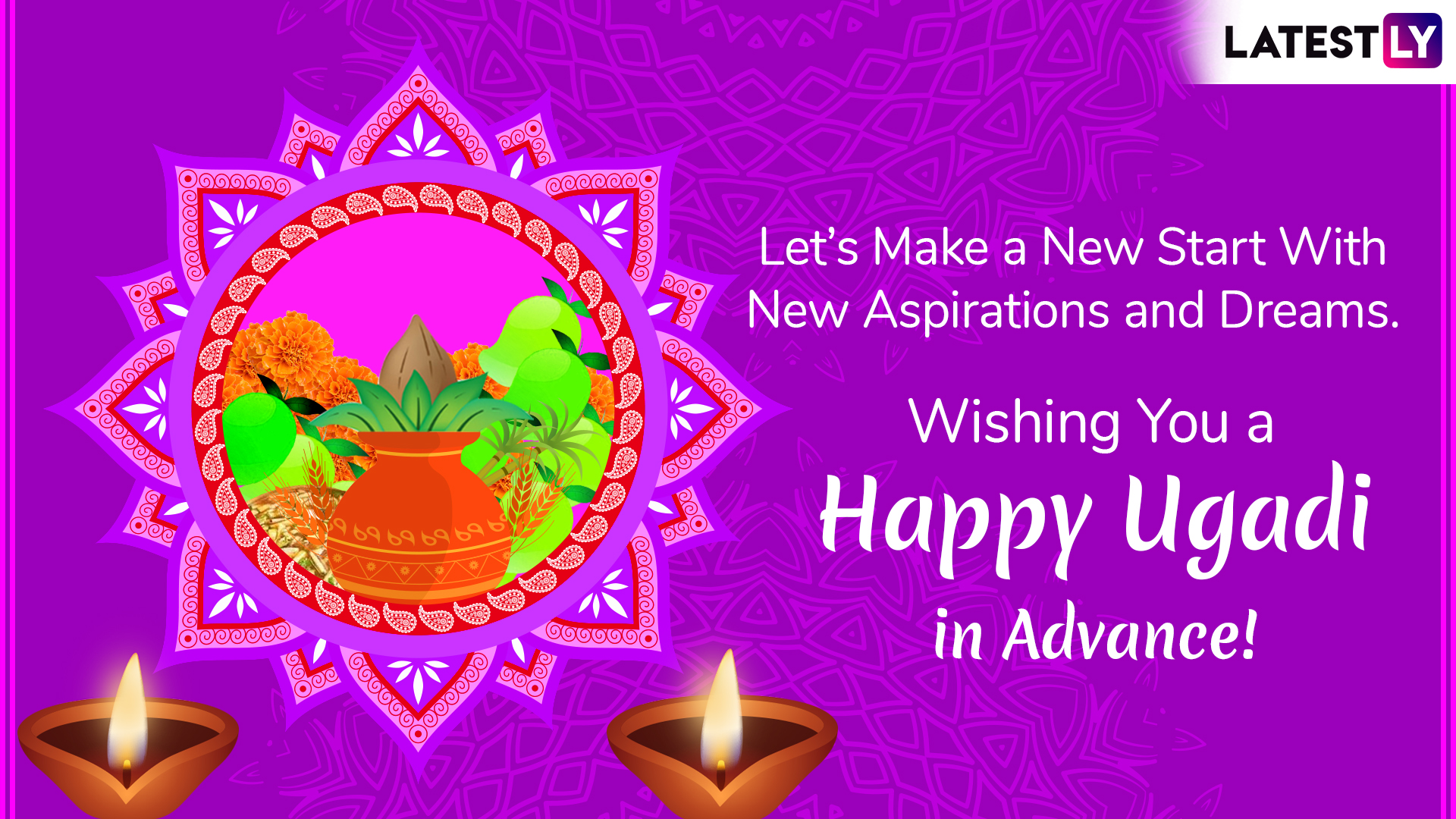 Happy Ugadi (Gudi Padwa) 2019 Wishes in Advance: Best