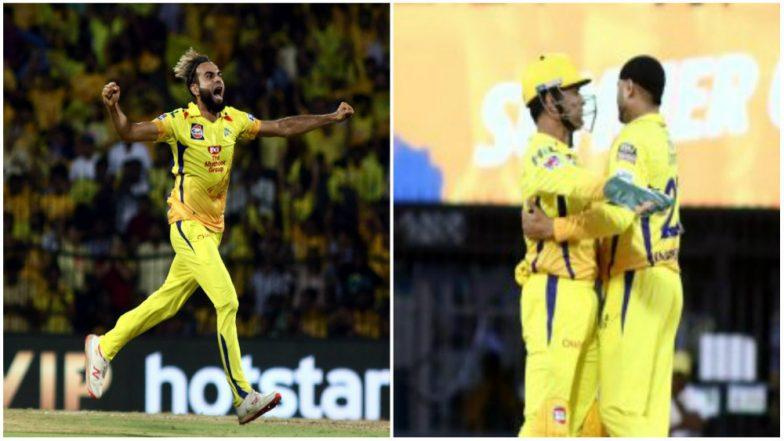 CSK vs KKR, IPL 2019: Harbhajan Singh, Imran Tahir Maturing Like Old Wine, Says MS Dhoni
