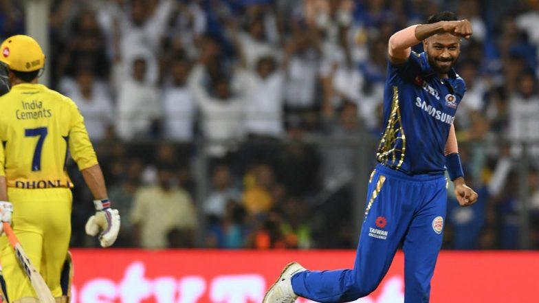 Hardik Pandya, Man of The Match Winner of MI vs CSK IPL 2019 Game Says Last Seven Months Haven't Been Easy
