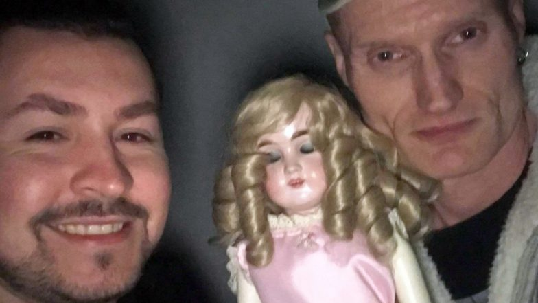 'Haunted' 116-Year-Old Doll Blinks in Selfie with Ghost Hunters Despite Having NO Eyes! (View Spooky Pic)