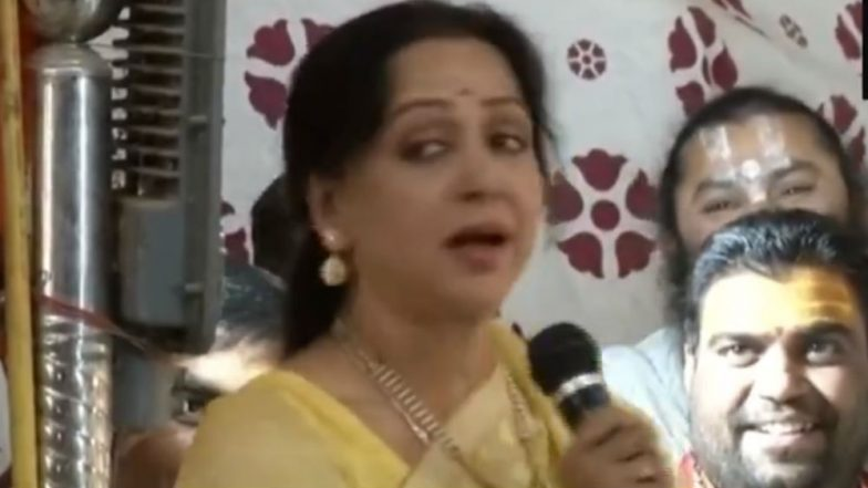 Monkey Menace In Mathura: 'Co-Existence, Frooti, Samosas'; Here's What Hema Malini Has to Say; Watch Video