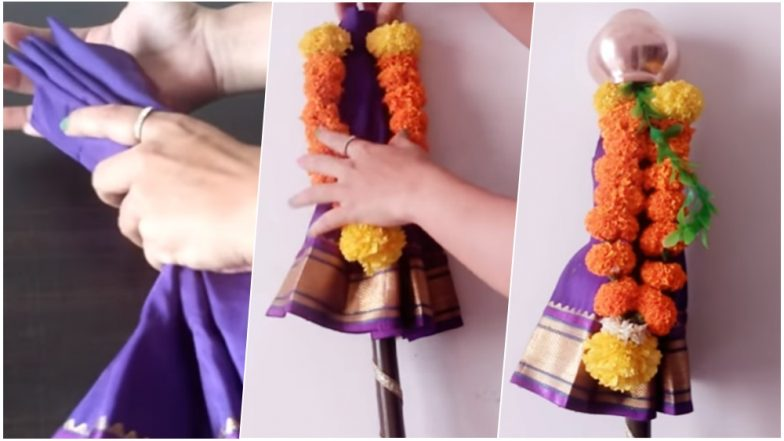 Gudi Padwa 2019: Learn How to Make Gudi At Home With This Simple DIY Video Tutorial to Celebrate Marathi New Year