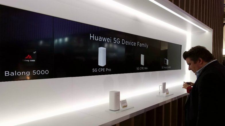 Huawei 'Open' to Selling 5G Technology to Apple