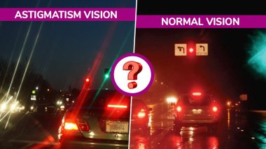 Astigmatism vs Normal Vision: Viral Image on Twitter Claims to Diagnose the Vision Condition, Here's the TRUTH!