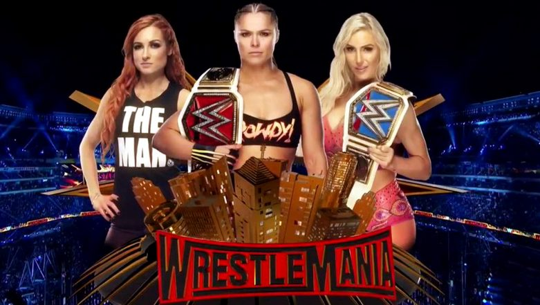 WWE WrestleMania 35: The Man Becky Lynch Becomes the New RAW and SmackDown Women's Champion As She Defeats Ronda Rousey and Charlotte Flair