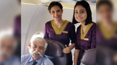 Air Vistara Issues Clarification After #BoycotVistara Trends on Twitter For Deleting Picture With Major General (R) GD Bakshi