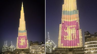 Dubai: Burj Khalifa Lights Up With Sri Lanka Flag to Show Solidarity With Blast Victims
