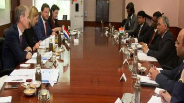 India, Netherlands Agree to Boost Political, Economic and Cultural Bilateral Ties