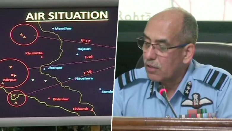 IAF Shows Radar Image to Prove F-16 Fighter Jet Was Downed in Dogfight With Pakistan; Watch Video
