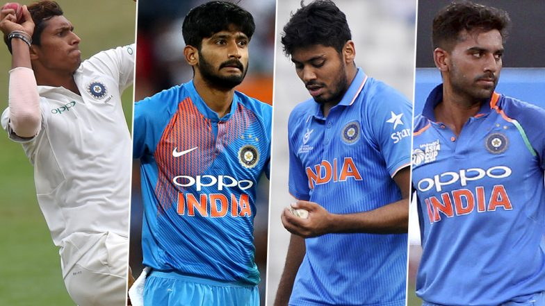 ICC World Cup 2019 Squad: BCCI Names Khaleel Ahmed, Navdeep Saini, Deepak Chahar and Avesh Khan as India's Net Bowlers for The Tournament