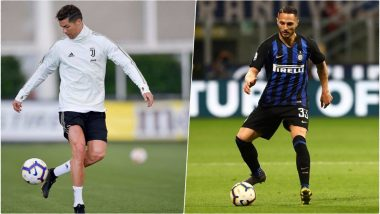 Inter Milan vs Juventus, Italian Serie A 2018–19 Live Streaming and Telecast Details: Where and When to Watch Inter vs Juve Football Match Live on TV and Online?
