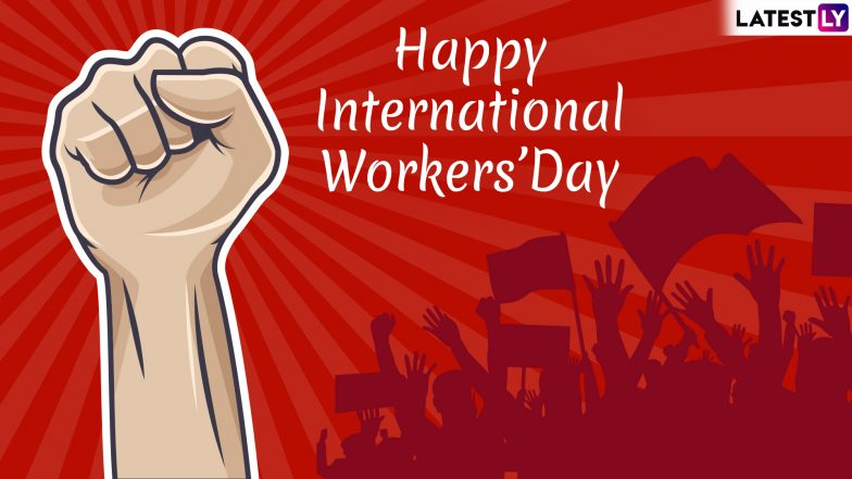 International Workers' Day 2019 Wishes & Quotes: WhatsApp Stickers, Labour Day GIF Images Messages, SMS to Send Happy Greetings to All Employees!