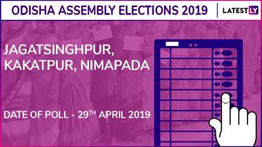 Jagatsinghpur, Kakatpur, Nimapara Assembly Elections 2019 Results in Odisha: BJD Wins in All 3 Seats