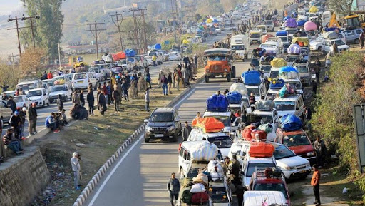Jammu-Srinagar Highway Restrictions Lifted Partially For Civilians