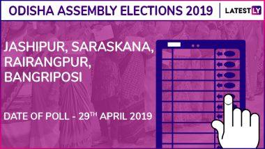 Jashipur, Saraskana, Rairangpur, Bangriposi Assembly Elections Results 2019 in Odisha: BJD, BJP Win 2 Seats Each