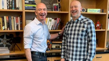 Amazon CEO Jeff Bezos Thanks Executive Assistant John Connors on Administrative Professionals Day 2019 With a Sweet Instagram Post