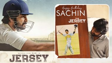 Team Jersey's Birthday Wish for #GodOfCricket Sachin Tendulkar Is a Must See!