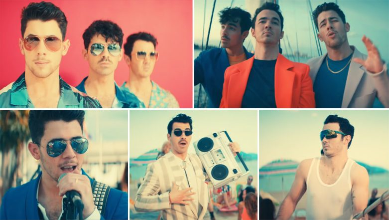 Jonas Brothers' 'Cool' Song: High on Elvis Presley Vibes, the Trio in Coloured Suits Will Make You Groove to Their Beats