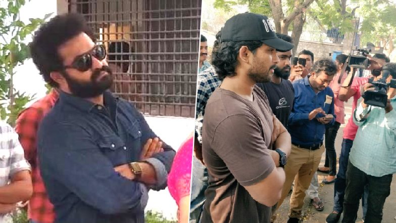 Lok Sabha Elections 2019: Tollywood Stars Jr NTR and Allu Arjun Casts Vote in Hyderabad (Watch Video)