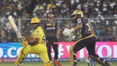 KKR vs CSK, Stat Highlights, IPL 2019: Imran Tahir's Four Wickets & Ravindra Jadeja's 31 Runs Help Chennai Super Kings Register Their Seventh Straight Win! (Watch Video)