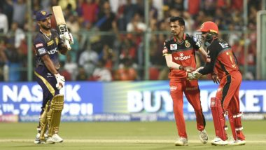 KKR vs RCB Head-to-Head Record: Ahead of IPL 2019 Clash, Here Are Match Results of Last 5 Kolkata Knight Riders vs Royal Challengers Bangalore Encounters!