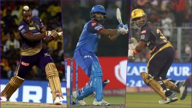 KKR vs DC, IPL 2019 Match 26, Key Players: Andre Russell to Rishabh Pant to Robin Uthappa, These Cricketers Are to Watch Out for at Eden Gardens