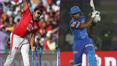 KXIP vs DC Head-to-Head Record: Ahead of IPL 2019 Clash, Here Are Match Results of Last 5 Kings XI Punjab vs Delhi Daredevils Encounters!