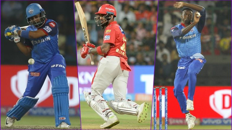 KXIP vs DC, IPL 2019 Match 13, Key Players: Prithvi Shaw to KL Rahul to Kagiso Rabada, These Cricketers Are to Watch Out for at Punjab Cricket Association Stadium