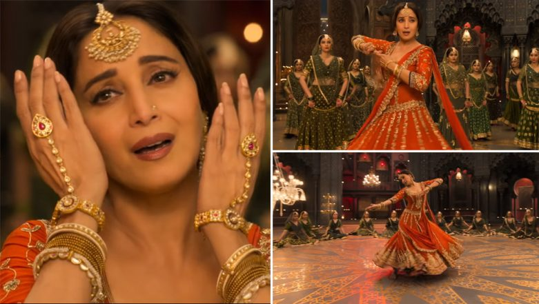 Tabaah Ho Gaye Song: Madhuri Dixit Nene's Graceful Moves and Shreya Ghoshal's Vocals Create a Magical Effect Together (Watch Video)