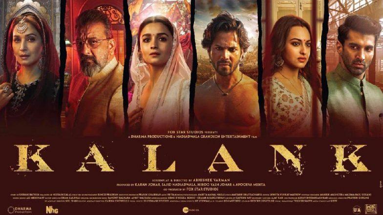 Kalank Box Office Collection: Will Bank Holidays Mahavir Jayanti and Good Friday Boost Business for Varun Dhawan-Alia Bhatt Starrer?