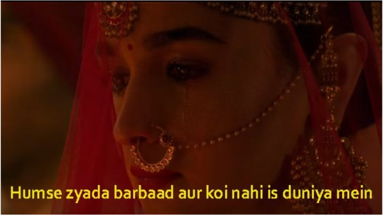 Kalank: Funny Memes on Alia Bhatt and Varun Dhawan's Period Saga are More Interesting to Read than the Film's Reviews