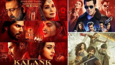 Kalank: The IMDB Score of Varun Dhawan and Alia Bhatt's Film Is LOWER Than Salman Khan's Race 3 and Aamir Khan's Thugs of Hindostan!