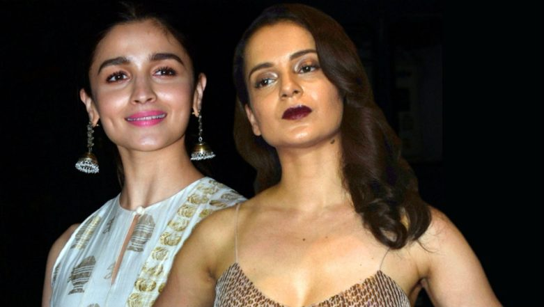 Kangana Ranaut and Alia Bhatt's Family Members Engage in A Bitter War of Words on Social Media