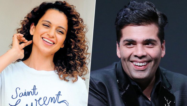 Did the Nepotism Debate End? Karan Johar Is Willing to Direct Kangana Ranaut – Read Details