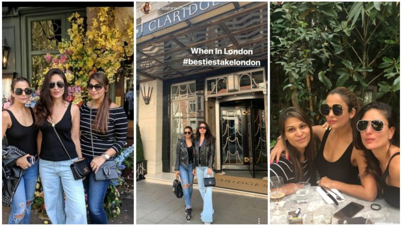Kareena Kapoor Khan and Amrita Arora's Pics From Their London Vacation is All About 'Good Looks, Good Looks and Good Looks!'