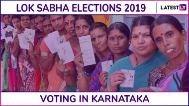 Karnataka Lok Sabha Elections 2019: Phase 2 Voting Ends in 14 Constituencies, Voter Turnout of 61.80% Recorded