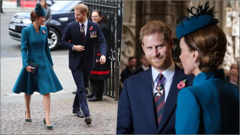 Duchess of Cambridge Kate Middleton and Prince Harry Make Stylish Joint Appearance Amid Reported Rift (View Pics)
