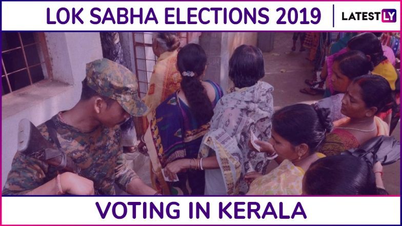 Kerala Lok Sabha Elections 2019: Phase 3 Voting Ends in All 20 Parliamentary Constituencies, 73.06% Voter Turnout Recorded