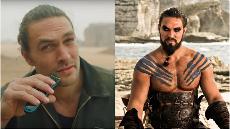 Game of Thrones' Jason Momoa Says Goodbye to Khal Drogo by Shaving off his Beard and Twitterati Can't Handle It