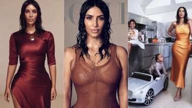 Kim Kardashian Makes Her Debut On Vogue Magazine's Cover In A Wet Grunge Look (View Pics)