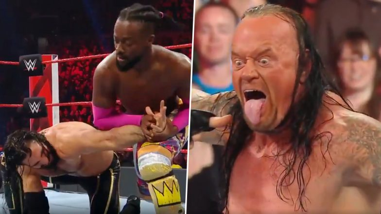 WWE RAW April 8, 2019 Results and Highlights: The Deadman Undertaker Appeared on the Show Just a Night After WrestleMania 35 (Watch Videos)