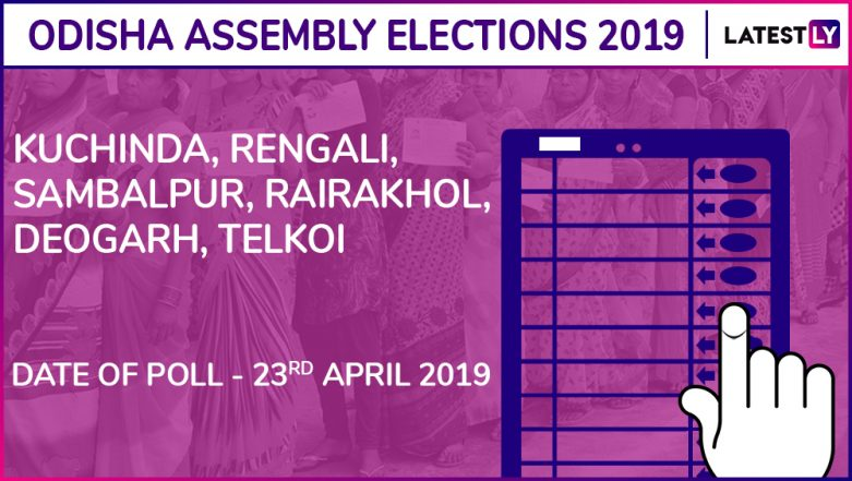 Kuchinda, Rengali, Sambalpur, Rairakhol, Deogarh, Telkoi Assembly Elections 2019: Candidates, Poll Dates, Results Of Odisha Vidhan Sabha Seats