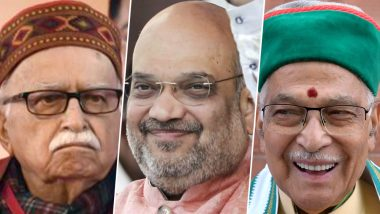 Amit Shah Meets LK Advani, Murli Manohar Joshi Amid Reports of BJP Veterans Sulking