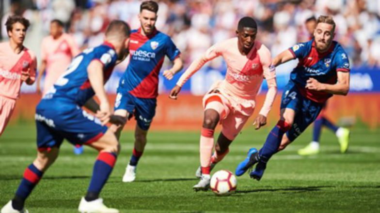 La Liga 2019: Huesca Hold Barcelona to Scoreless Draw