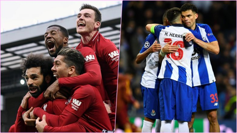 Liverpool vs FC Porto, Champions League Quarter-Final Live Streaming Online: How to Get UEFA CL 2018–19 Leg 1 Match Live Telecast on TV & Free Football Score Updates in Indian Time?