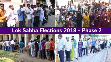 Lok Sabha Elections 2019 Phase 2 Live News Updates: 61.12% Total Voter Turnout Recorded