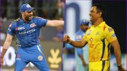 Mumbai Indians vs Chennai Super Kings Betting Odds: Free Bet Odds, Predictions and Favourites in MI vs CSK IPL 2020 Match 1