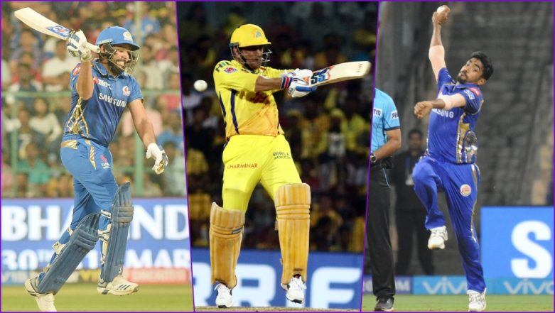MI vs CSK, IPL 2019 Match 15, Key Players: Rohit Sharma to MS Dhoni to Jasprit Bumrah, These Cricketers Are to Watch Out for at Wankhede Stadium