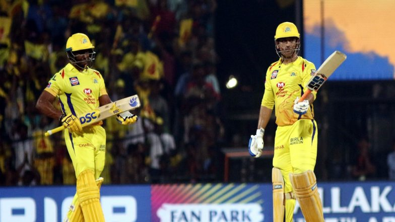 CSK vs RR, IPL 2019: Chennai Super Kings Defeat Rajasthan Royals by 8 Runs, MS Dhoni Rescue The Host
