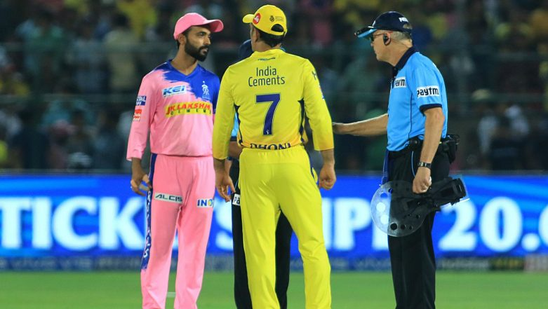 IPL 2019: Chennai Super Kings Batting Coach Mike Hussey Says 'Team Has Moved on From MS Dhoni Outburst' in Match Against RR
